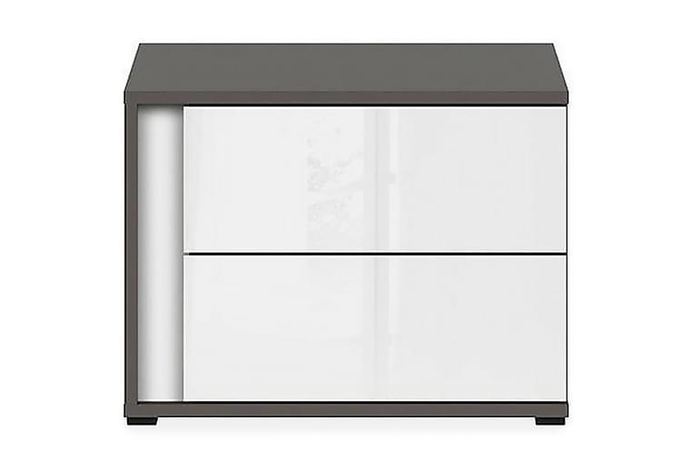 Grafika Nattduksbord 52 cm - Grå/Vit - Möbler - Bord - Sängbord & nattduksbord