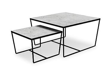 Haldor Satsbord 75/50 cm Glas/Metall