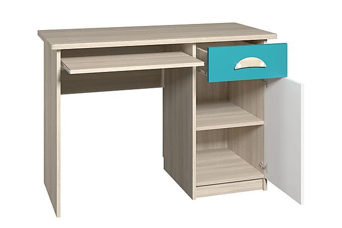 Melda Skrivbord - Lila/Vit/Trä - Möbler - Bord - Skrivbord