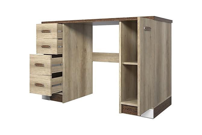 Romero Skrivbord 120x50x79 cm - Ek - Möbler - Bord - Skrivbord