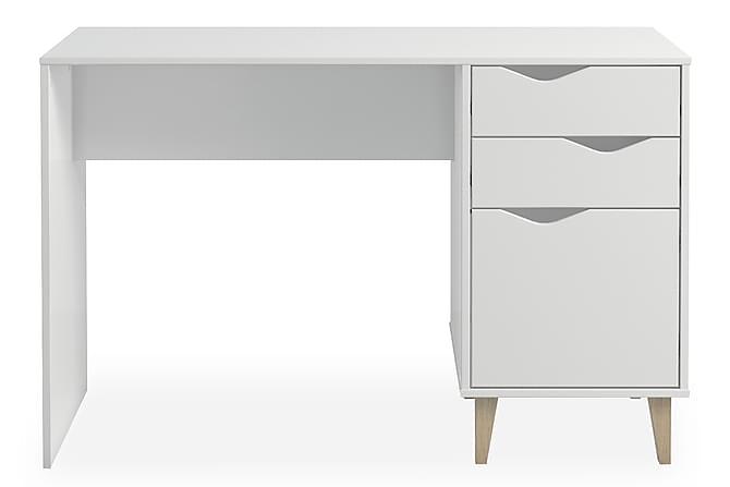 Populära Stuveme Skrivbord 116 cm med Förvaring - Vit   Trademax.se ZI-35
