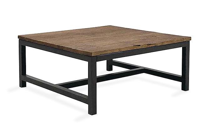 Alongi Soffbord 80 cm - Brun/Svart - Möbler - Bord - Soffbord