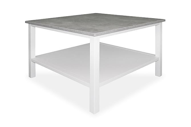 Ameli Soffbord 80 cm - Ljusgrå/Vit - Möbler - Bord - Soffbord