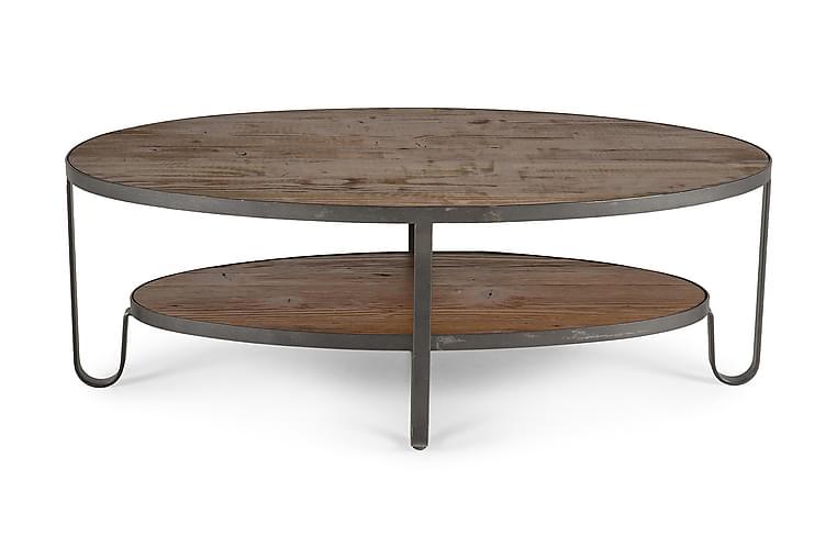 Bro Soffbord 128 cm Ovalt - Trä - Möbler - Bord - Soffbord