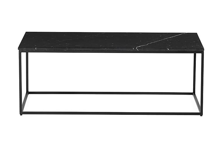Carrie Soffbord 120 cm Marmor - Svart - Möbler - Bord - Soffbord