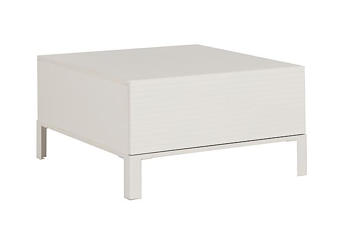 Doras Soffbord 80 cm - Vit - Möbler - Bord - Soffbord