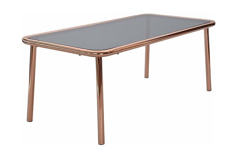 Dusk Soffbord 120 cm - Glas/Koppar - Möbler - Bord - Soffbord
