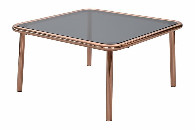 Dusk Soffbord 75 cm - Glas/Koppar - Möbler - Bord - Soffbord