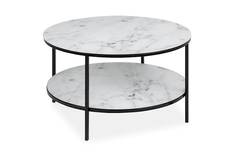 Epiffer Soffbord 80 cm Runt - Vit/Svart/Grå - Möbler - Bord - Soffbord