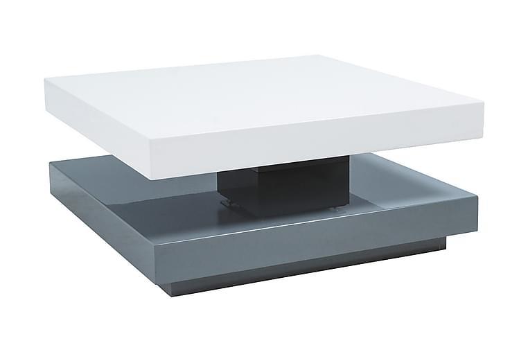 Falona Soffbord 75 cm - Vit/Grå - Möbler - Bord - Soffbord