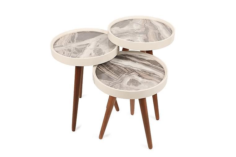 Holandija Satsbord - Vit - Möbler - Bord - Soffbord