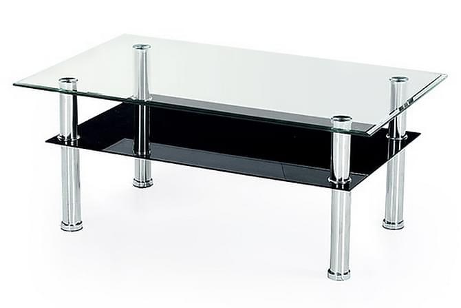 Kamron Soffbord 104x64 cm Glas - Svart - Möbler - Bord - Soffbord