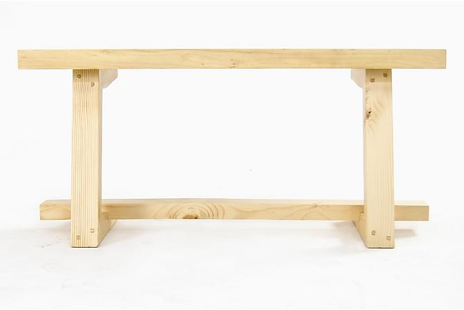 Massive Design Skrivbord - Ljus Trä - Möbler - Bord - Soffbord