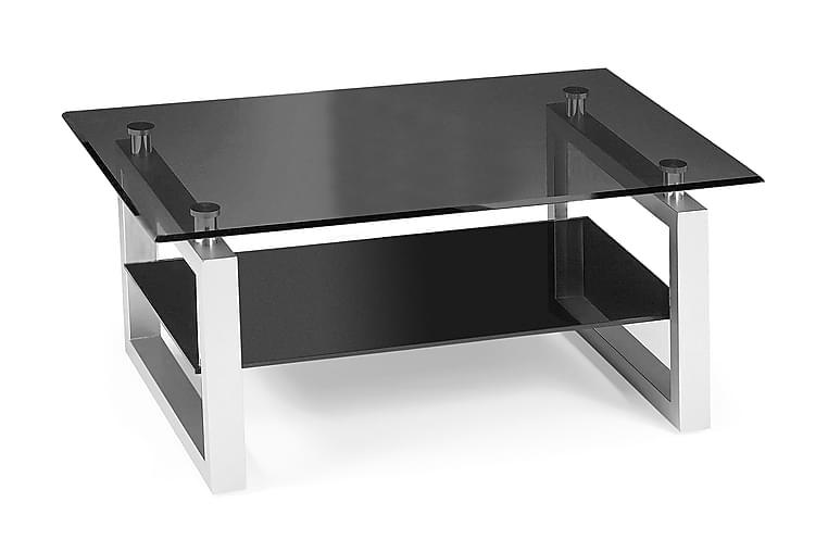 Sala Soffbord 110 cm - Glas/Svart - Möbler - Bord - Soffbord