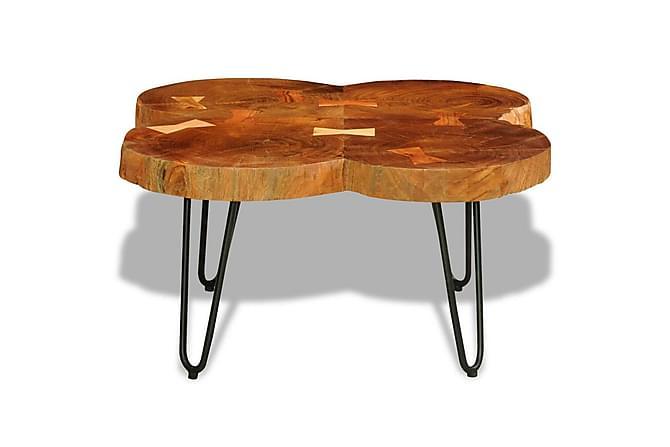 Salongbord 35 cm 4 tømmerstokker heltre indisk rosentre - Möbler - Bord - Soffbord