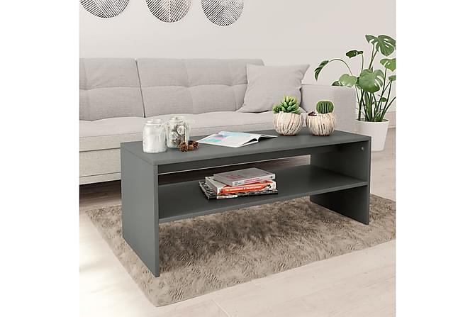 Soffbord grå 100x40x40 cm spånskiva - Grå - Möbler - Bord - Soffbord