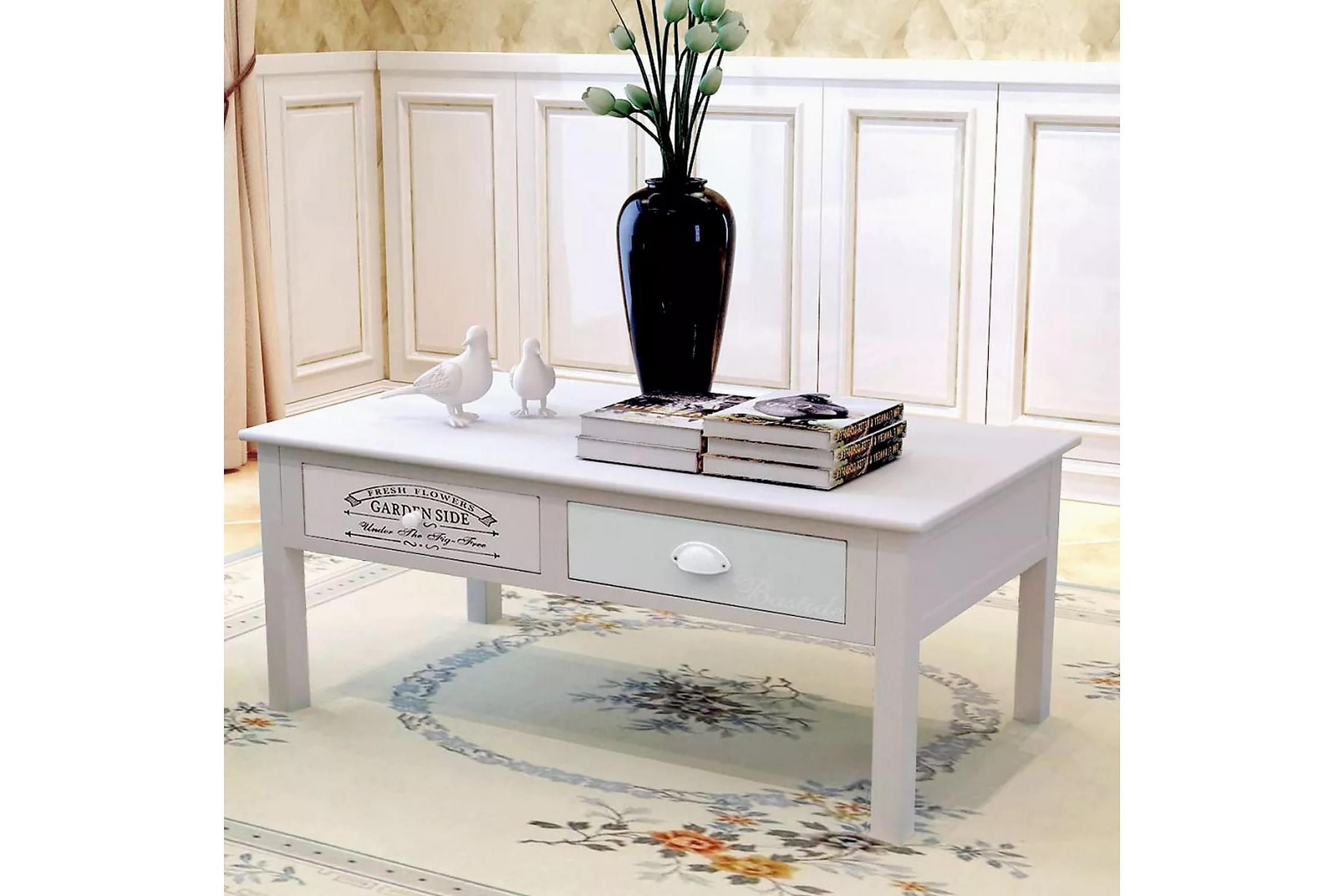 skrivbord vit gammaldags stil