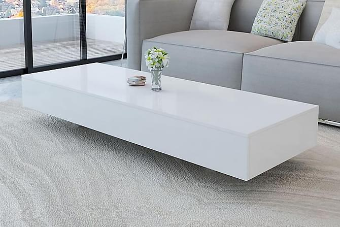 Soffbord i högglans vit - Vit - Möbler - Bord - Soffbord
