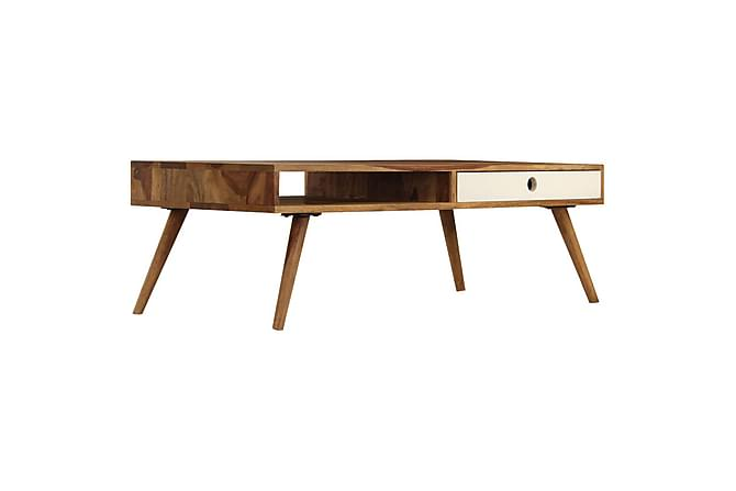 Soffbord i massivt sheshamträ 110x50x35 cm - Möbler - Bord - Soffbord