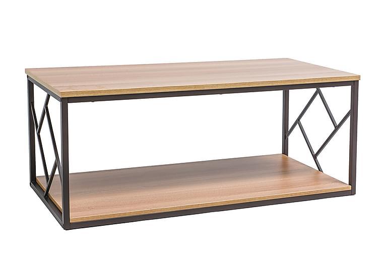 Tablonal Soffbord 111 cm - Natur/Svart - Möbler - Bord - Soffbord