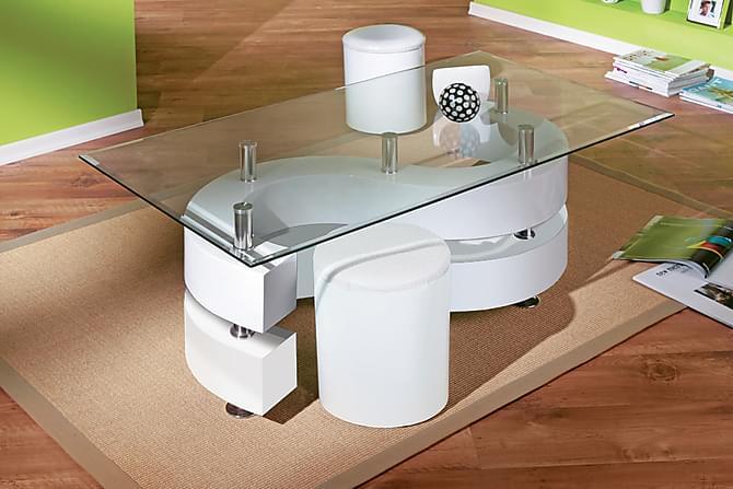 Turney Soffbord - Vit - Möbler - Bord - Soffbord