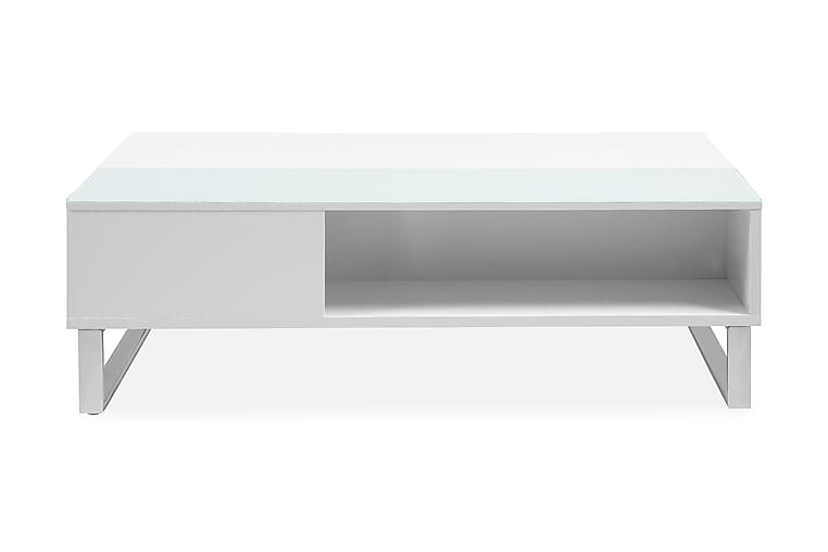 Vilhelmina Soffbord 110 cm - Vit - Möbler - Bord - Soffbord