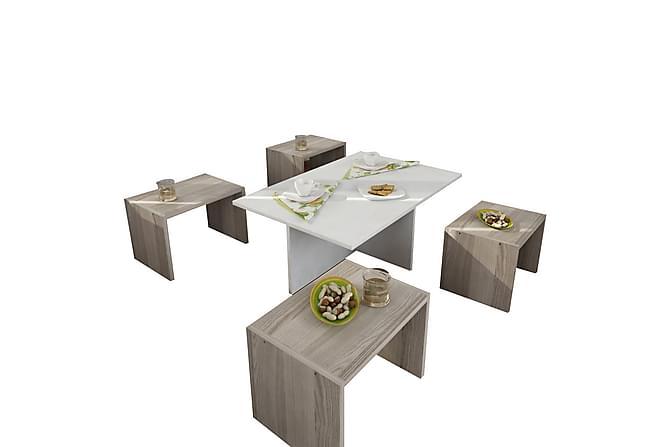 Vintalle Soffbord - Vit - Möbler - Bord - Soffbord