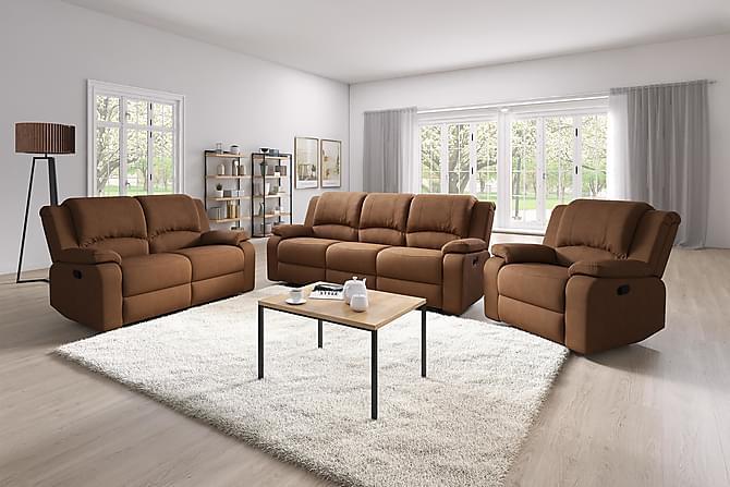 Norbo Reclinerfåtölj - Ljusbrun - Möbler - Fåtöljer & fotpallar - Fåtöljer