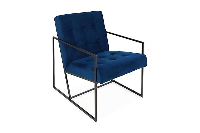 Indy Fåtölj - Blå/Svart - Möbler - Fåtöljer & fotpallar - Fåtöljer