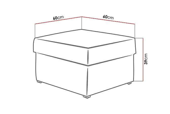 Mori Sittpuff 60x60x39 cm - Möbler - Fåtöljer & fotpallar - Sittpuff