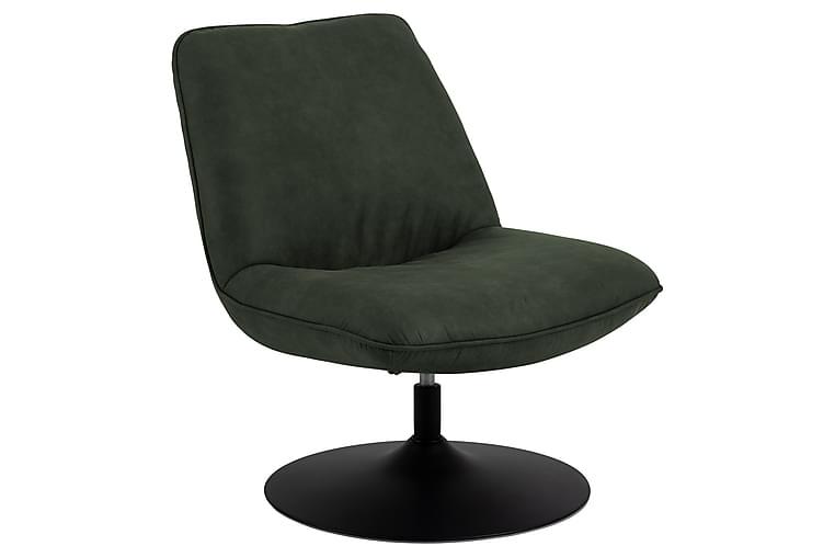 Berkey Loungefåtölj - Grön - Möbler - Fåtöljer & fotpallar - Fåtöljer