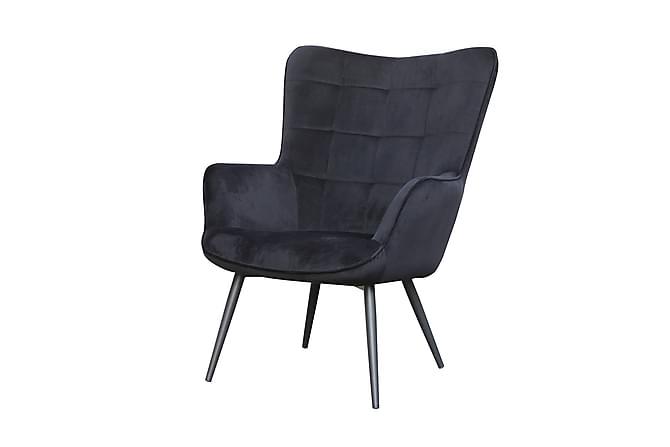 Wava Fåtölj - Svart - Möbler - Fåtöljer & fotpallar - Fåtöljer