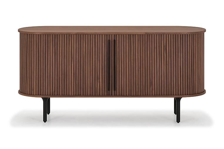Noira Sideboard 150x45 cm Massiv Valnöt - Brun - Möbler - Förvaring - Byrå