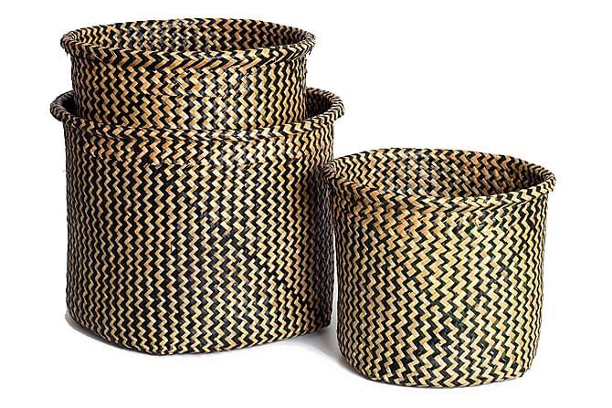 Pollard Korg Set om 3 - Rotting - Möbler - Förvaring - Förvaringslådor & korgar