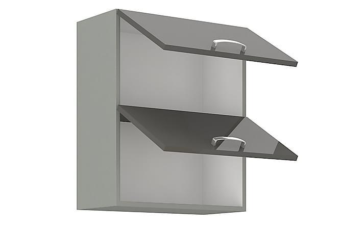 Bianco Väggskåp 60x31x71,5 cm - Grå|Vit - Möbler - Förvaring - Förvaringsskåp