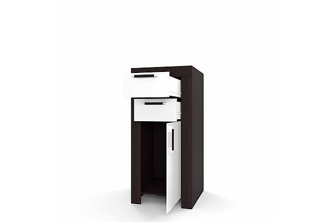 Cezar Förvaringsskåp 60x42x131 cm - Svart - Möbler - Förvaring - Förvaringsskåp