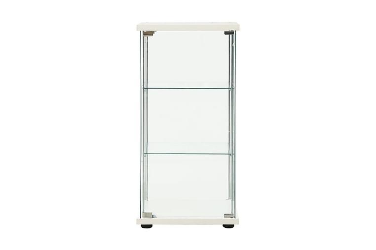 Förvaringsskåp härdat glas vit - Vit - Möbler - Förvaring - Förvaringsskåp