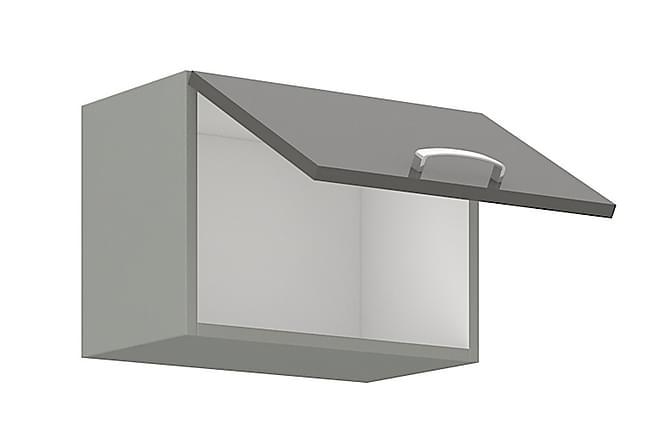 Grey Väggskåp 50x31x40 cm - Svart|Grå|Vit - Möbler - Förvaring - Förvaringsskåp