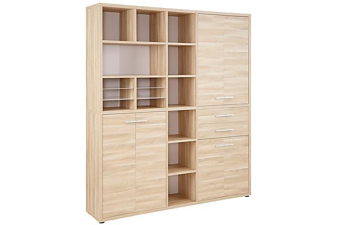 Neviges Hylla 191,9 cm - Brun - Möbler - Förvaring - Förvaringsskåp