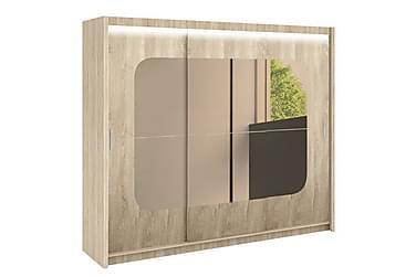 Barcelona Garderob 250x61x215 cm