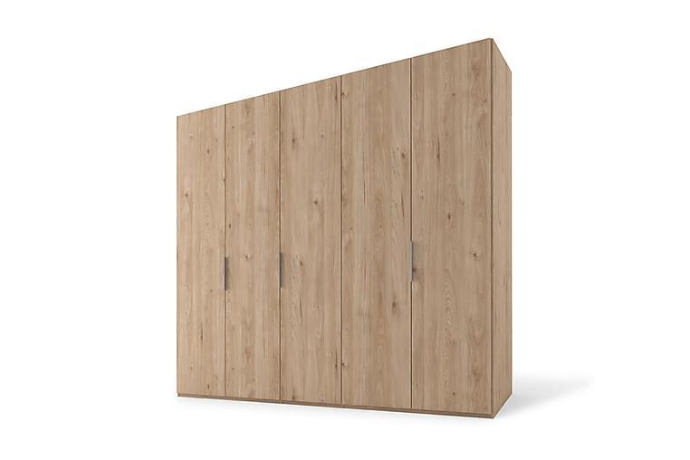 Bonnye Garderob 250 cm - Brun - Möbler - Förvaring - Garderober & garderobssystem