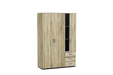 Botilda Garderob 121 cm 3 Dörrar 3 Lådor