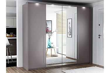 Coulson Garderob 255 cm med Vikdörrar