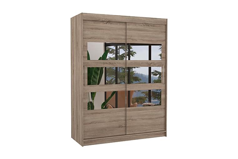 Florento Garderob 150x200 cm - Natur - Möbler - Förvaring - Garderober & garderobssystem