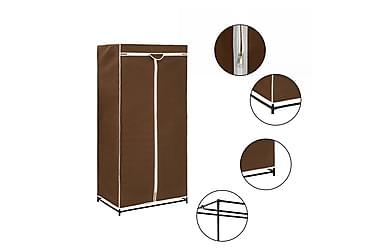 Garderob brun 75x50x160 cm
