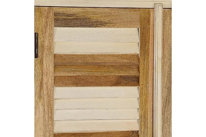 Garderob massivt mangoträ 100x50x200 cm - Trä - Möbler - Förvaring - Garderober & garderobssystem