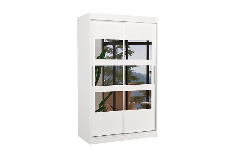 Kolorado Garderob 120x200 cm - Vit - Möbler - Förvaring - Garderober & garderobssystem