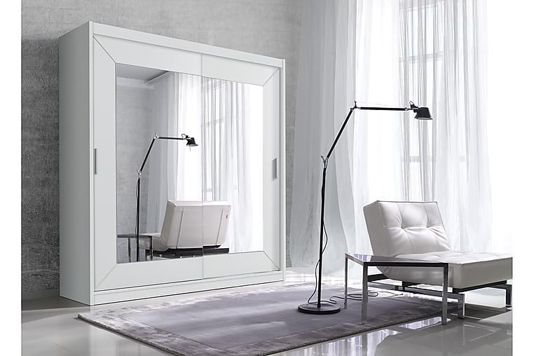 Louetta Garderob - Vit - Möbler - Förvaring - Garderober & garderobssystem