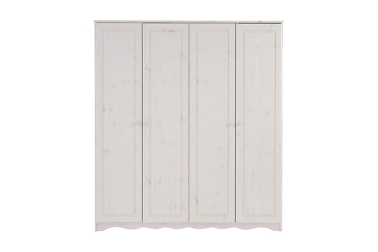 Naoki Garderob 170 cm - Vit - Möbler - Förvaring - Garderober & garderobssystem
