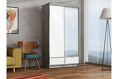 Premium Garderob 120x62x215 cm